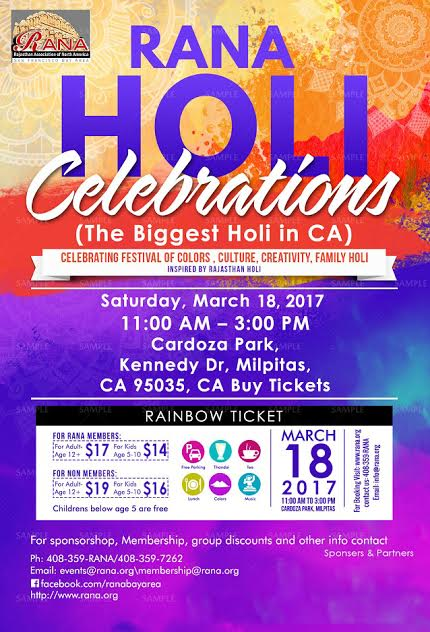 PLEASANTON HOLI