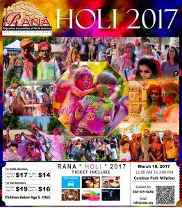 Holi in Bay area