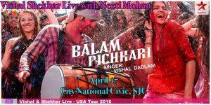 Vishal & Shekhar Live - USA Tour