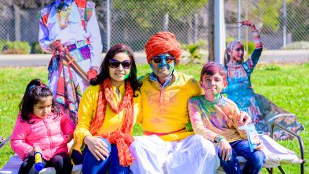 Celebrate the carnival of colors in San Francisco, California